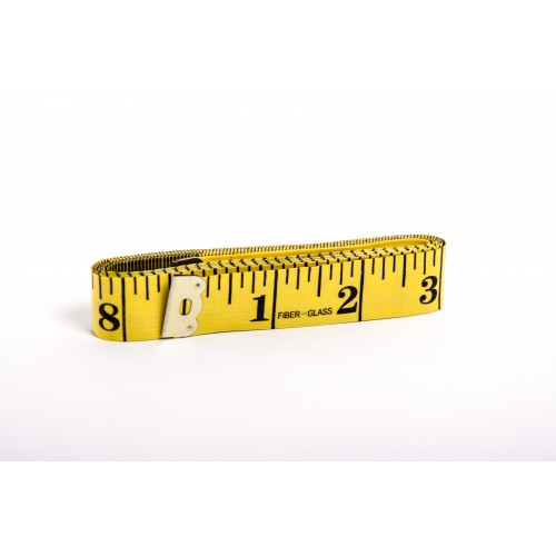 Krejčovský metr 150 cm - žlutá