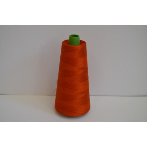 ART 33 100% Egyptská bavlna - PETALOUDA 4000 YARD Tmavá oranž 3403