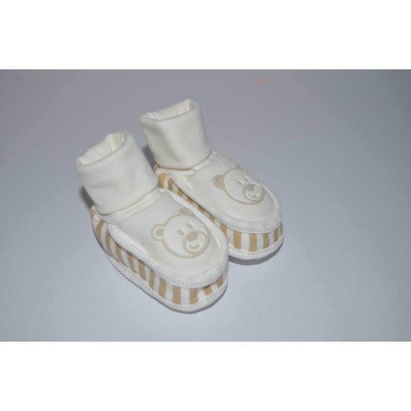 Kojenecké bačkůrky bílé