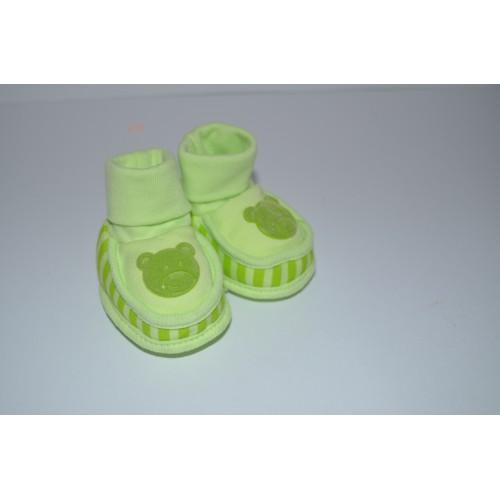Kojenecké bačkůrky zelené