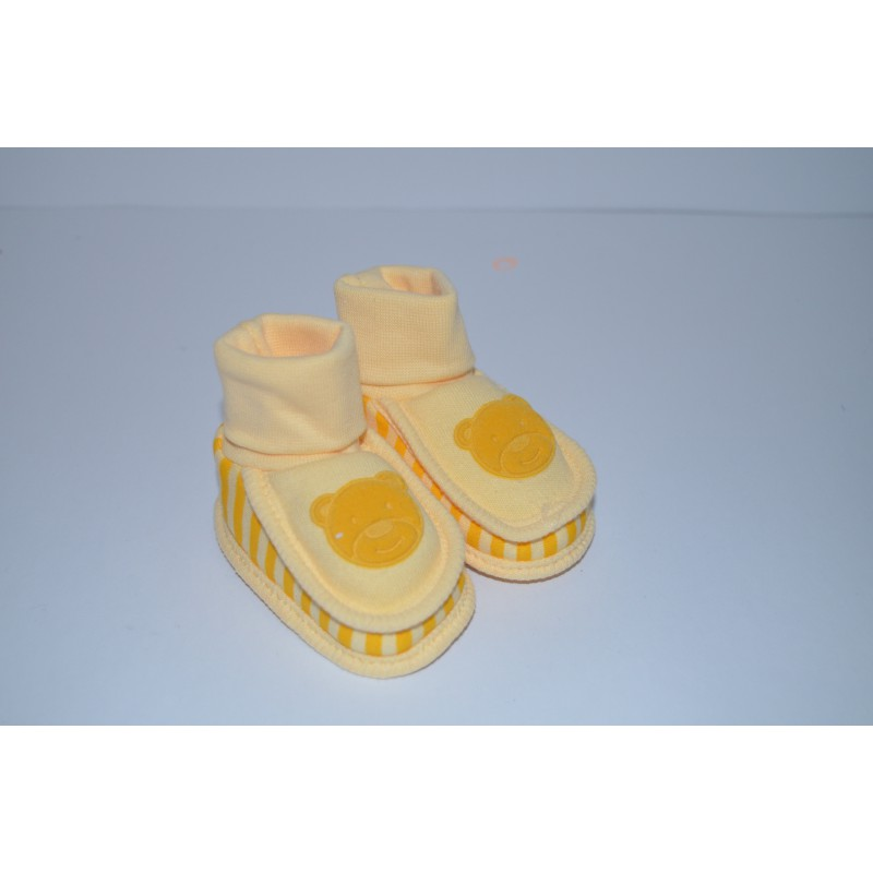 Kojenecké bačkůrky žluté